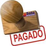 Sello común de madera